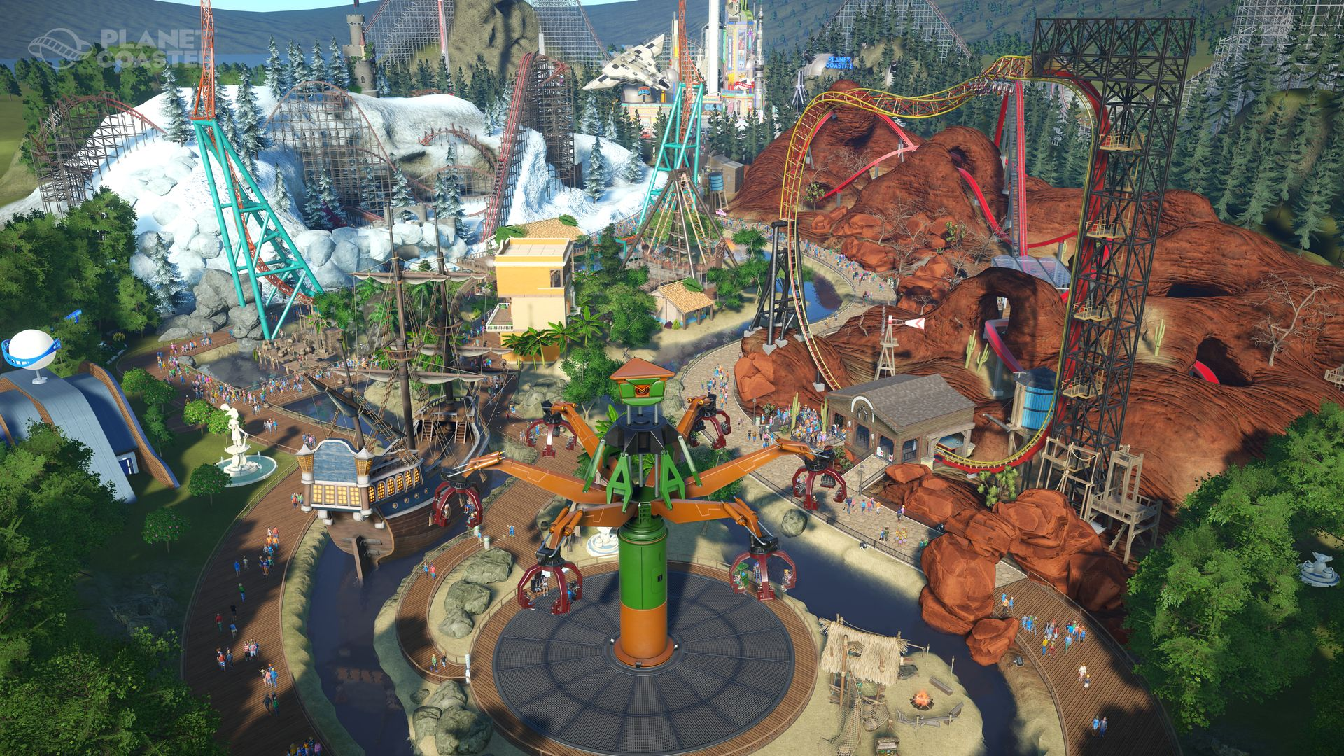 PLANET COASTER CEDAR POINTS STEEL VENGEANCE-STEAM PUNKS Torrent Free Download