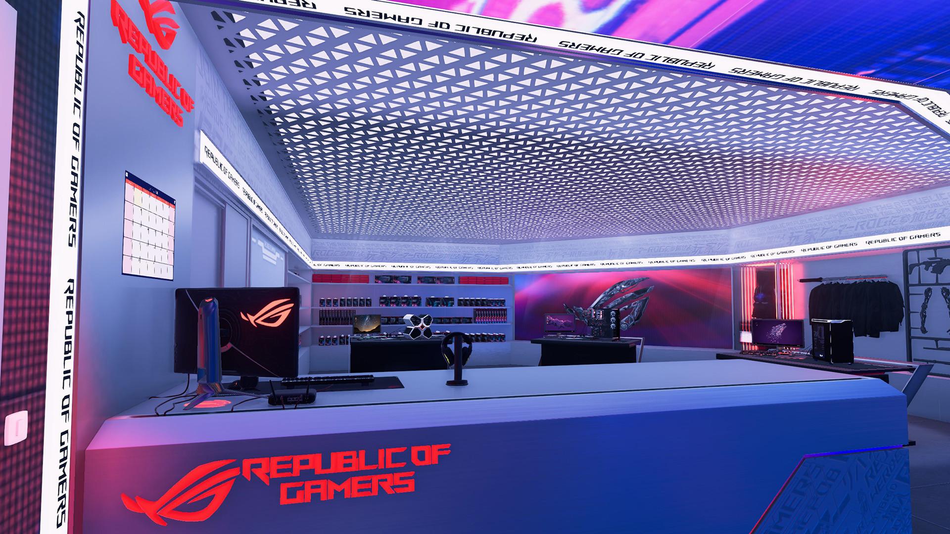PC Building Simulator Republic of Gamers Workshop-PLAZA Torrent Free Download
